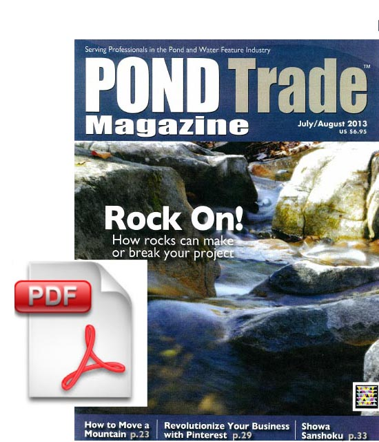 Pond Trade Magazine Feature Article