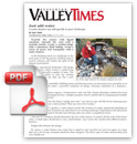 Valley Tmes Just Add Water article