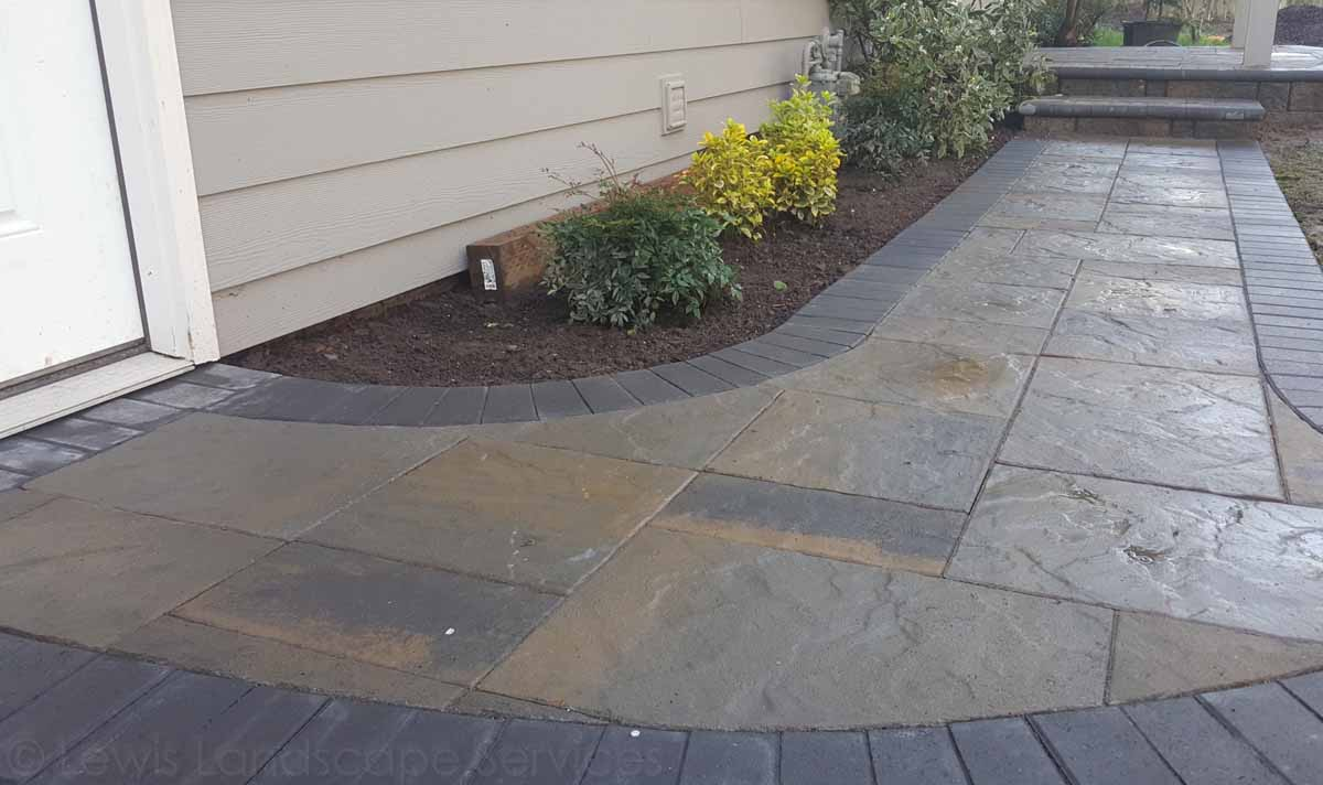 Paver Pathway in Beaverton, OR