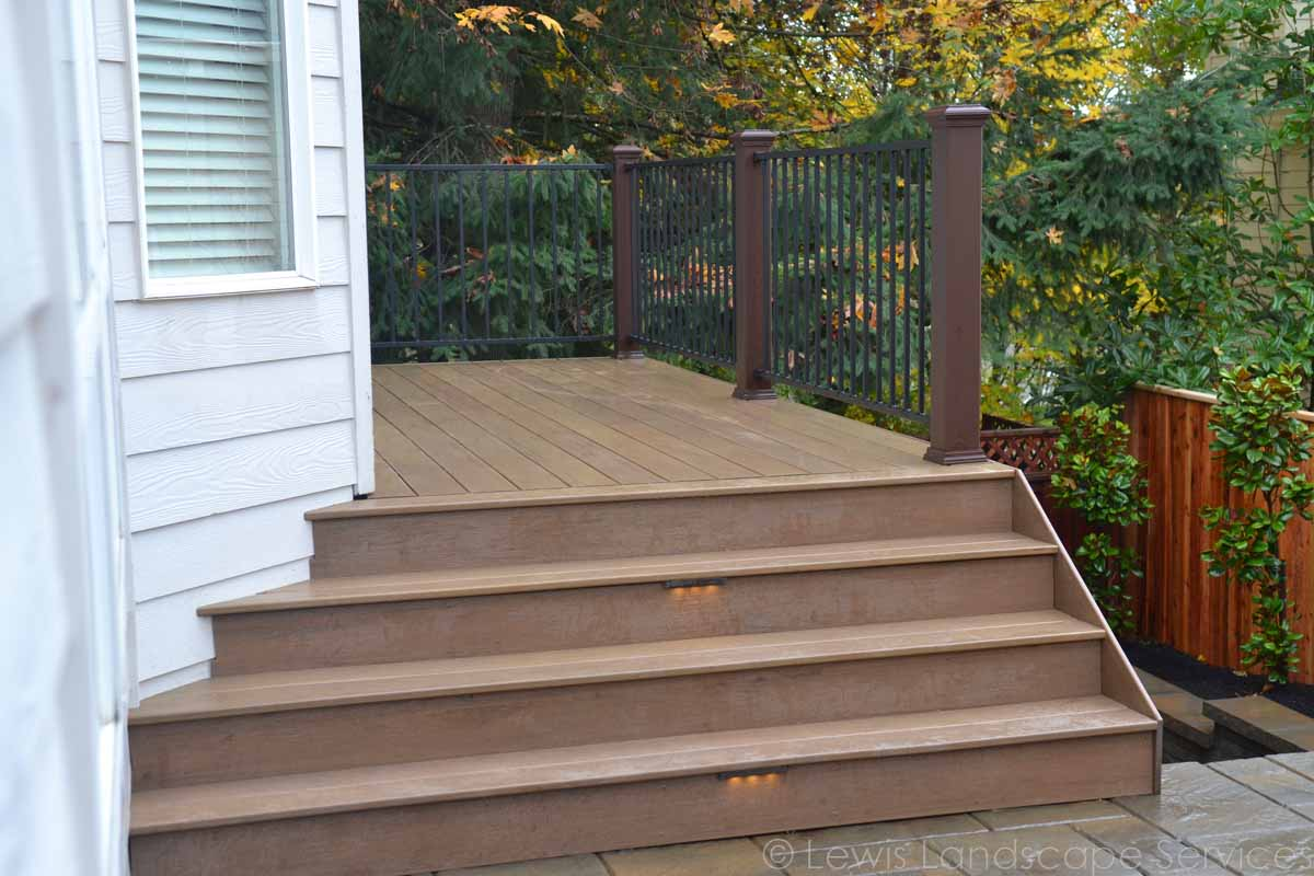 TimberTech Decking & Railing from one of our jobs in Portland, OR