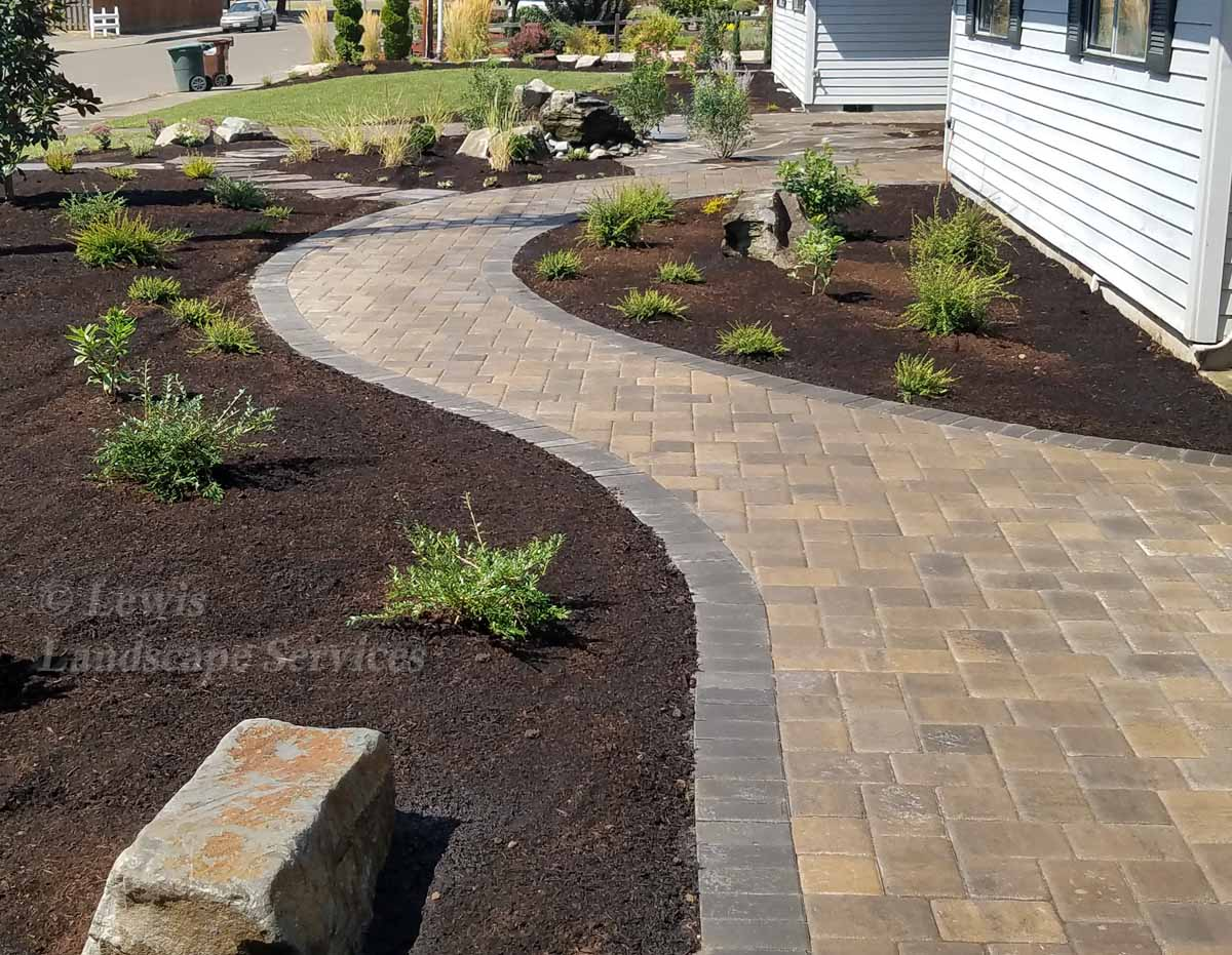 Plaza Paver Pathway in Hillsboro, OR