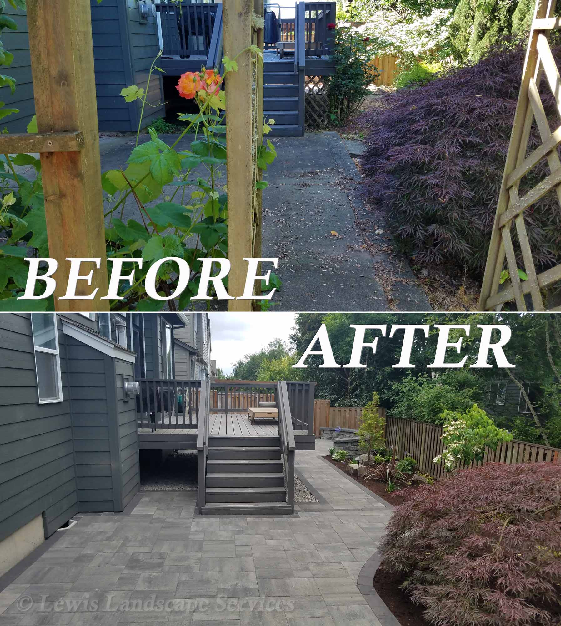 Before-After of Project