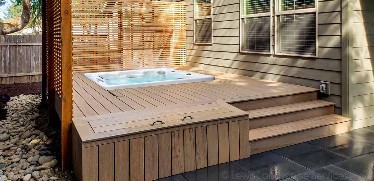 TimberTech Decking & Storage Box we built in Tigard Oregon