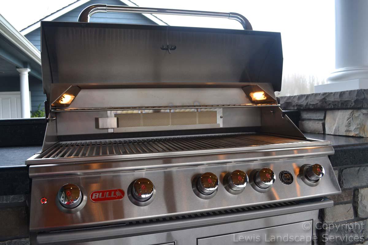 Closeup of BBQ Grill