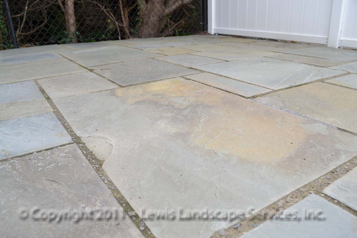 Pennsylvania Bluestone Patio Close-up Detail