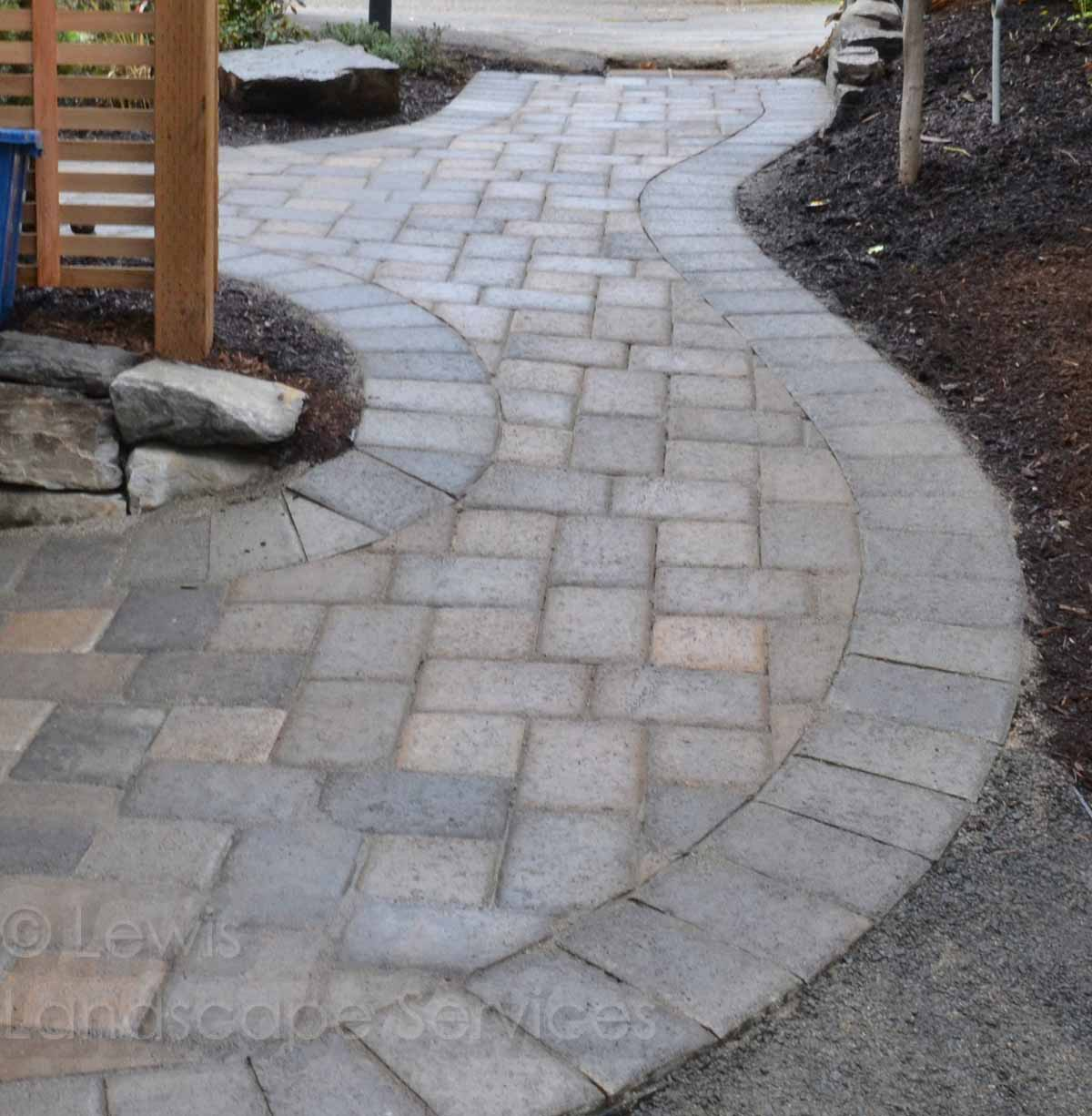 Paver Pathway in Lake Oswego, OR