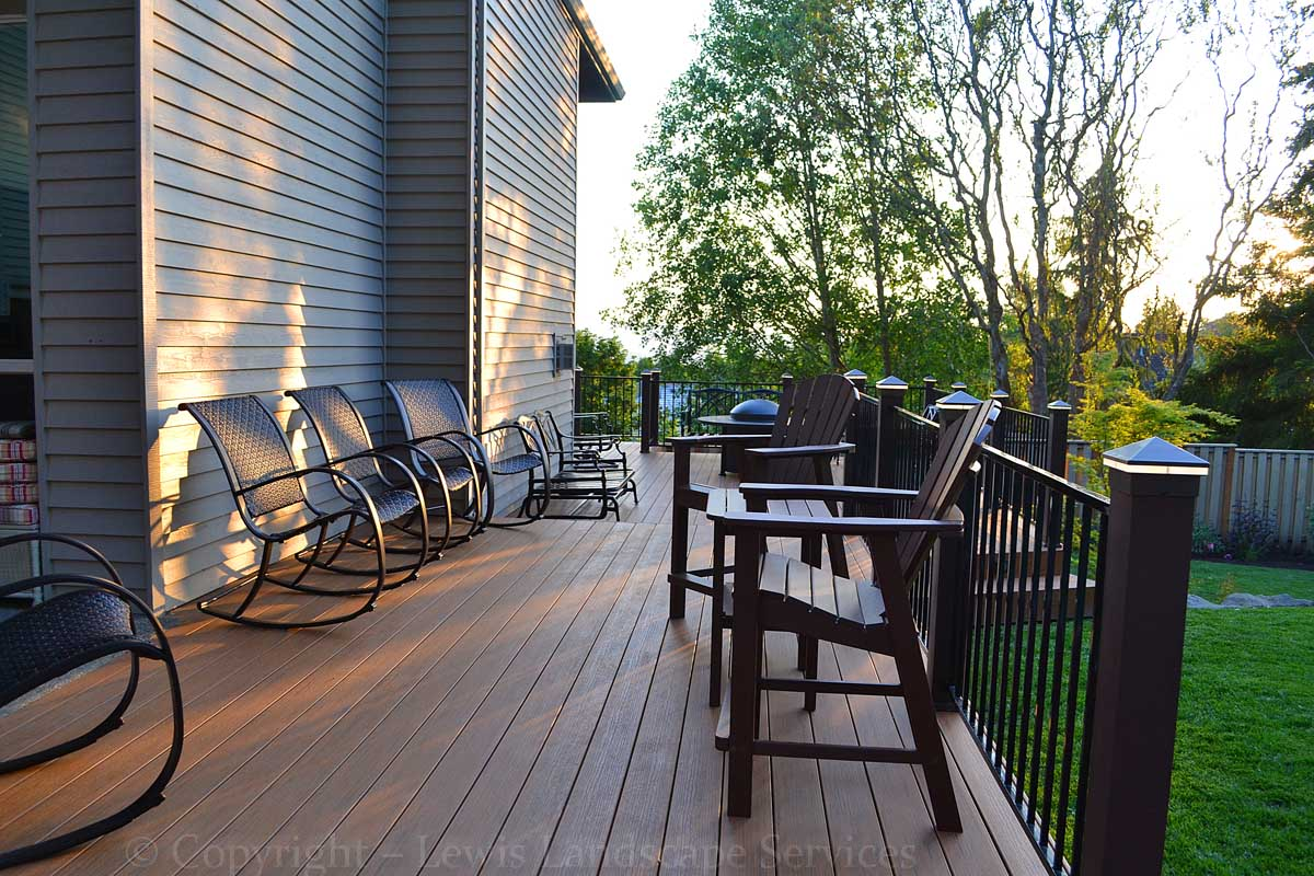 TimberTech Deck at one of our Decking Installers in Tigard, OR