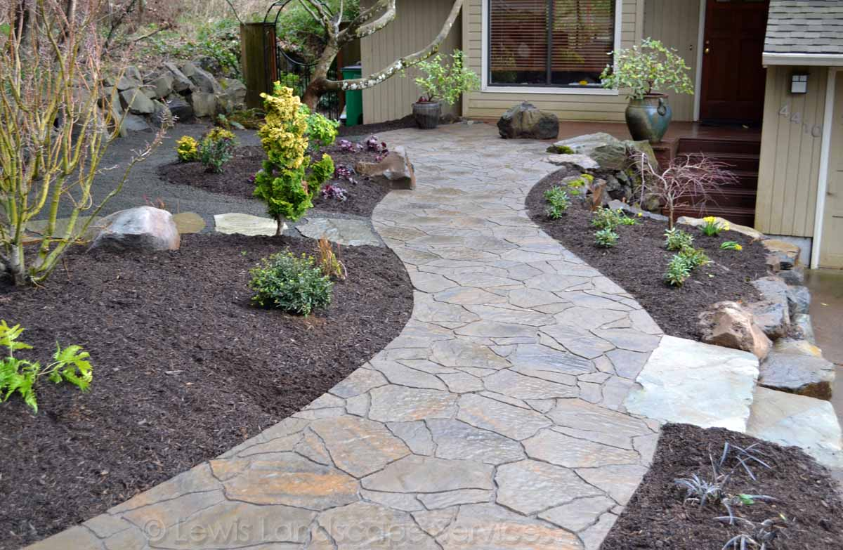 Paver Pathway in SW Portland, OR