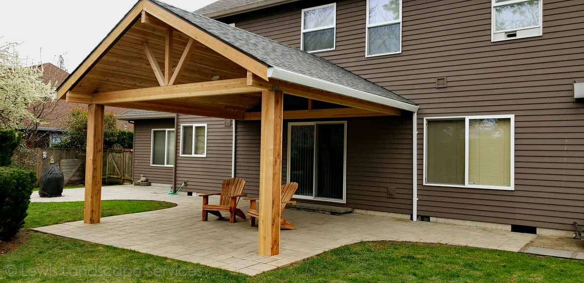Gabled Roof Timber Structure