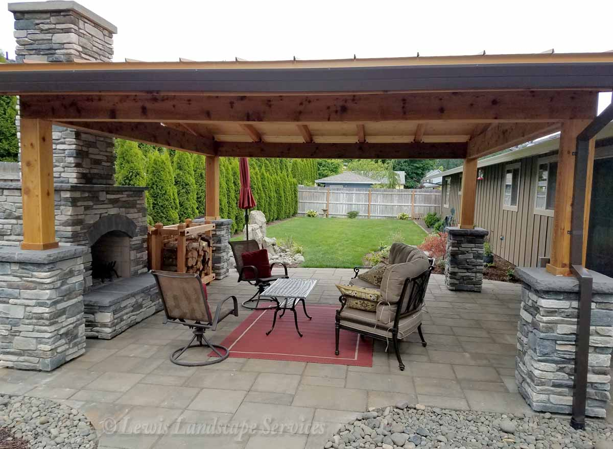 Complete Outdoor Living Spaces Custom Taylored to Your Needs