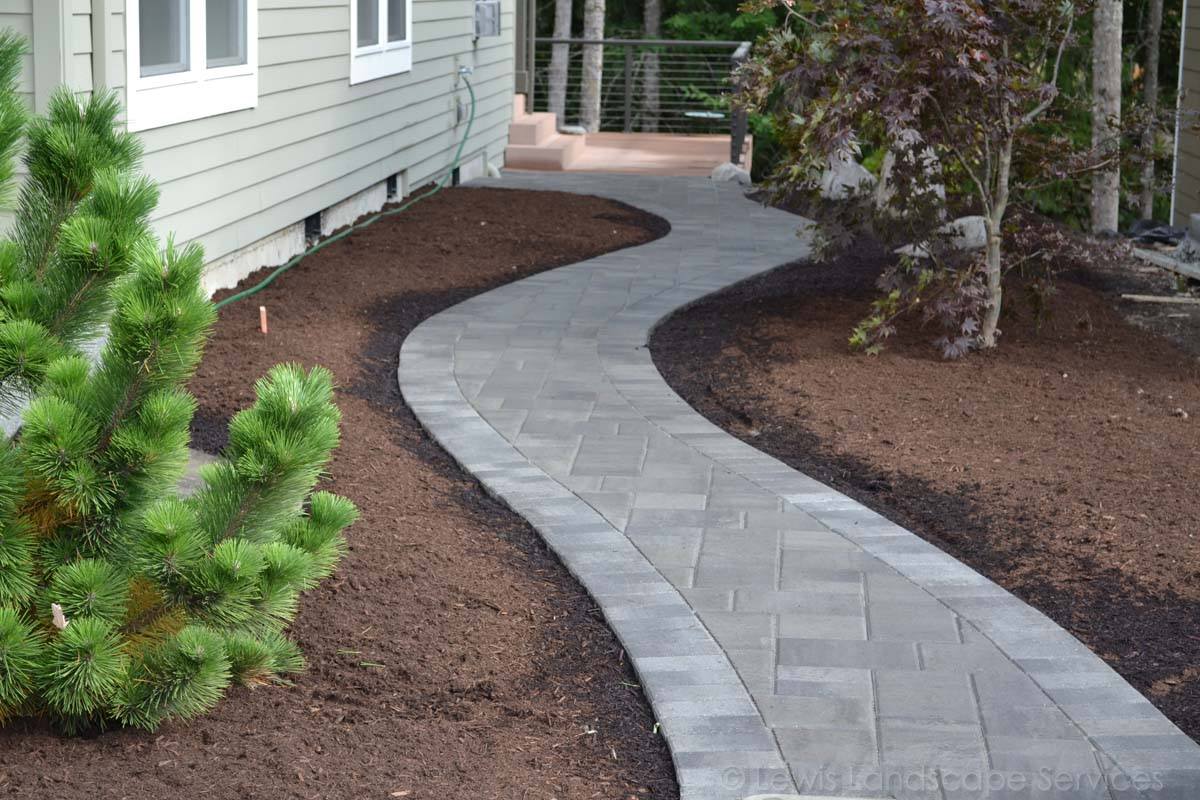 Holland Paver Pathway in NW Portland, OR - Bethany Area