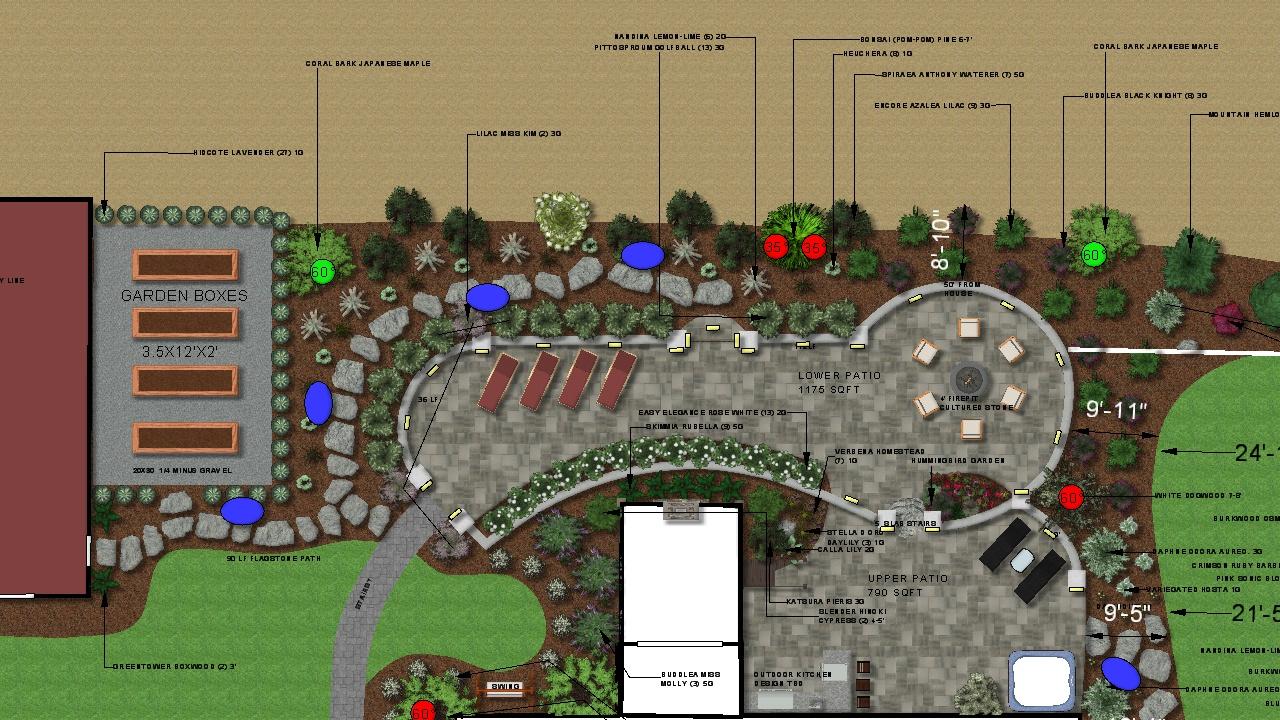 Landscape Design Plans - Before Build