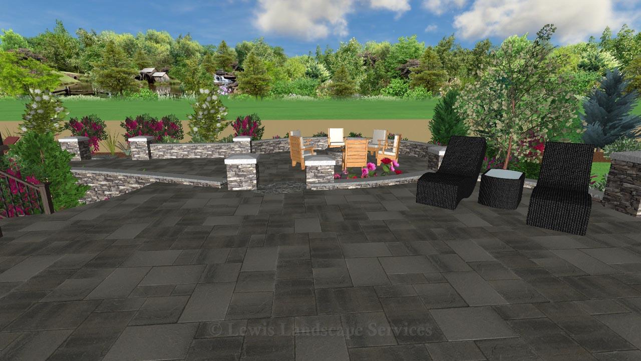 Landscape Design - Perspective View 4