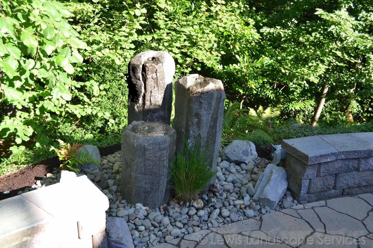 Three Rock Bubbler Fountain