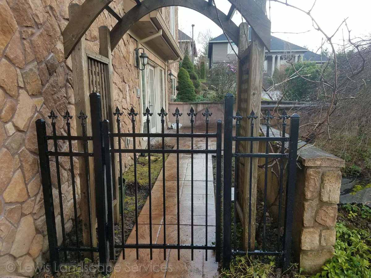 Iron Fence & Gate
