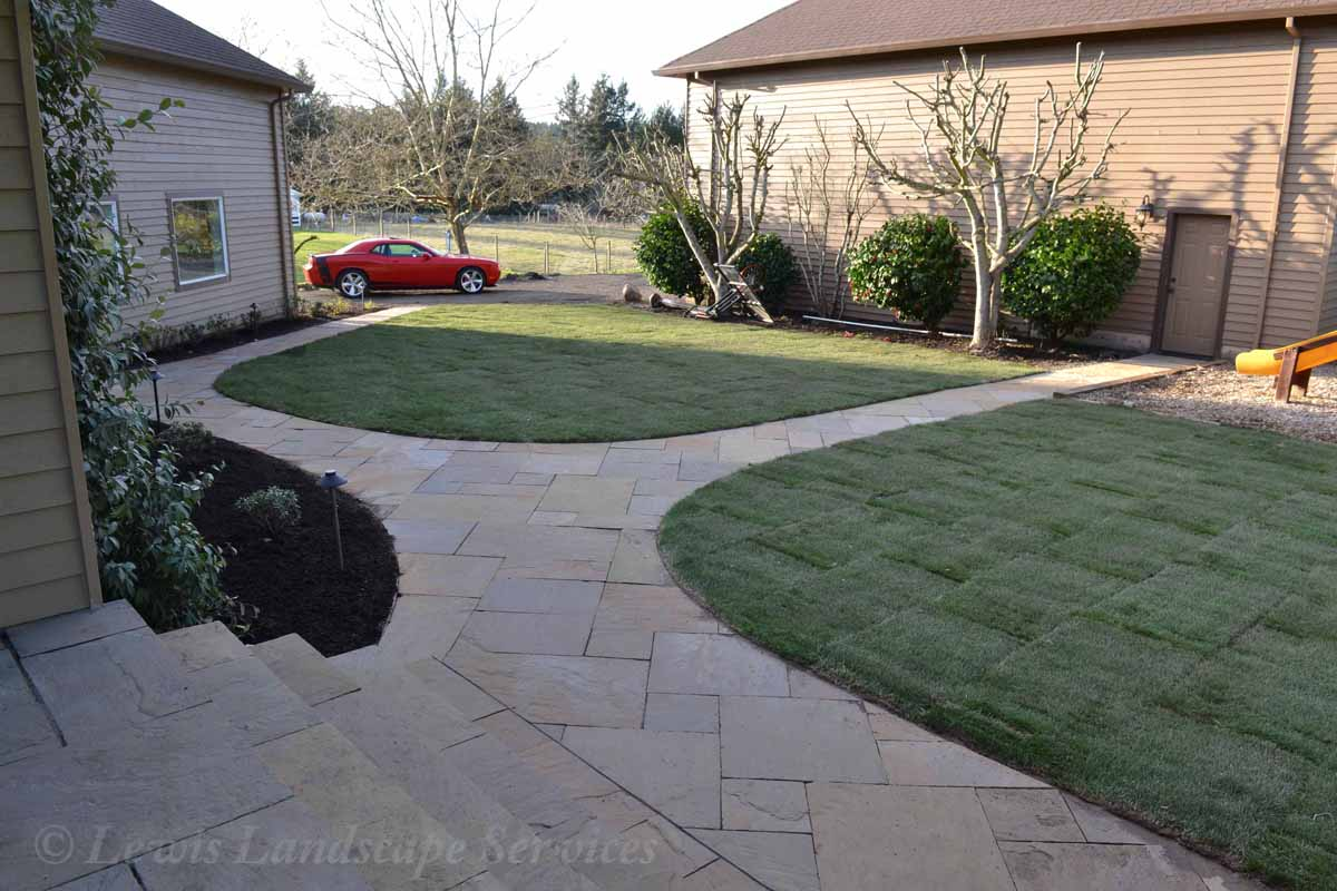 Stone Pathways Made with Stone Pavers by Marshall's
