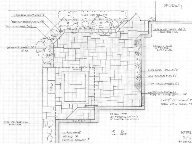 Hardscape & Landscape Design Plans