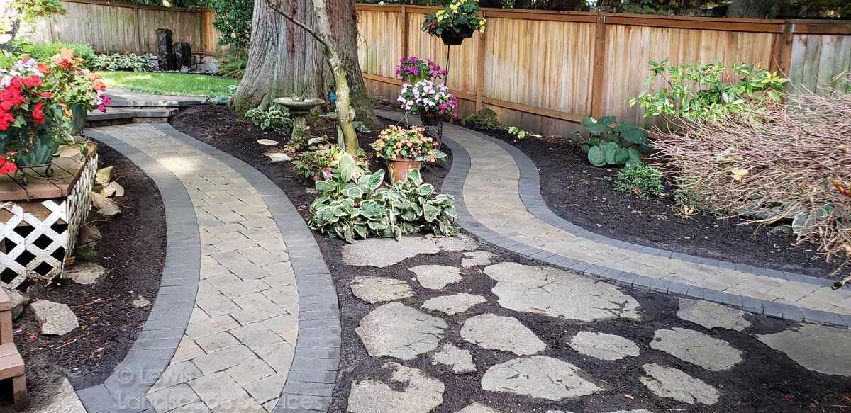 Paver Pathway in Tigard Oregon