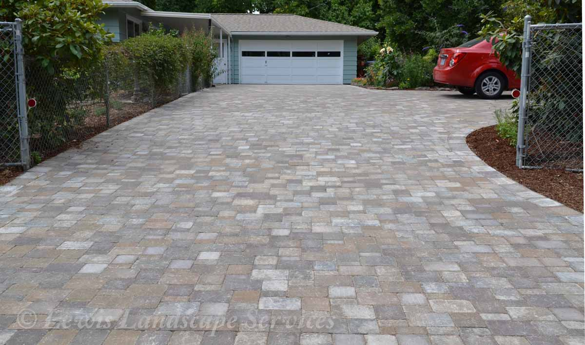 Paver Driveway We Installed in Tigard Oregon
