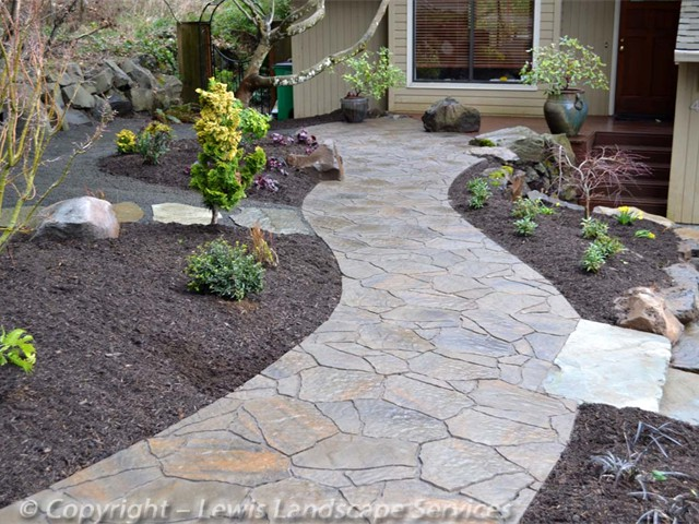 Pavers With The Natural Look Of Flagstone