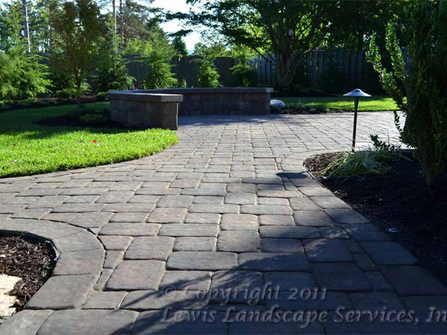 Paver Pathways & Patios