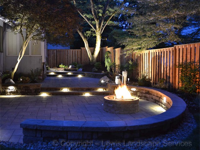 Paver Patios For Day & Night Time Use