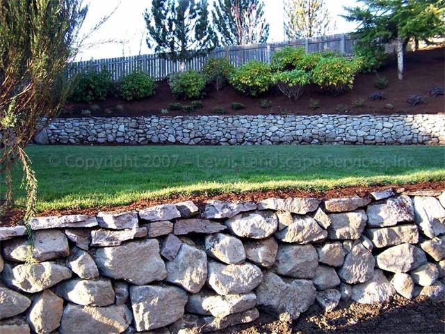 Basalt Dry-Stack Rock Walls