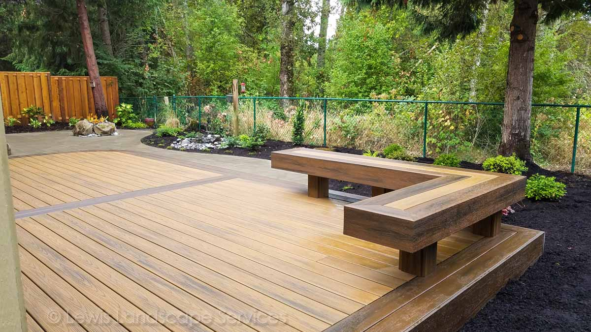 Trex Decking we built in Tigard, OR