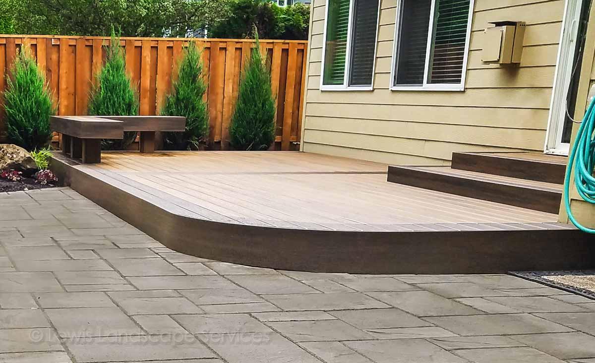 TimberTech Deck we built in Tigard, Oregon area
