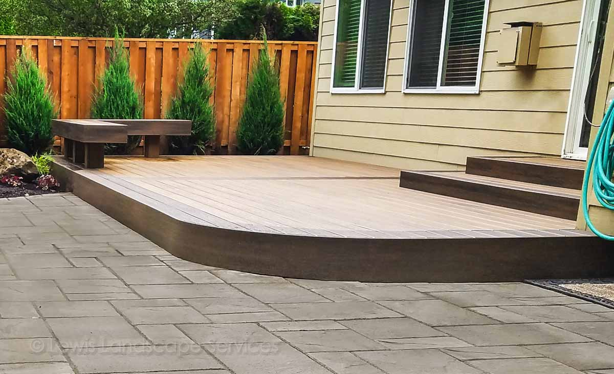 Custom TimberTech Deck