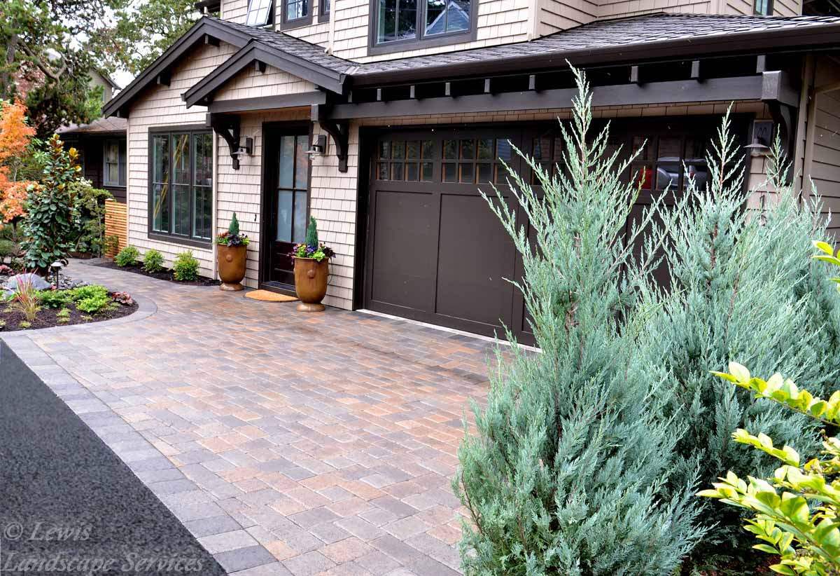 Paver Driveway We Installed in Lake Oswego