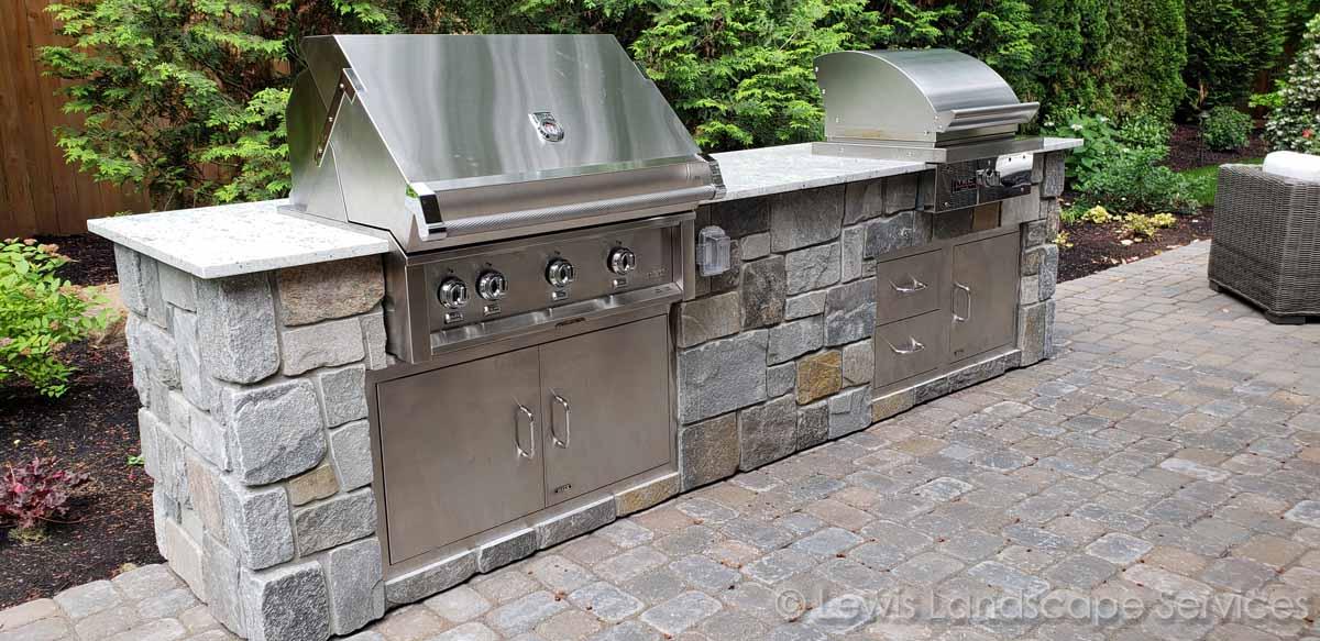 Granite Countertops, BBQ Grill, Doors & Drawers