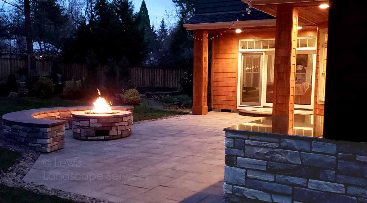 Lewis Landscape Services Outdoor Living Spaces Portland