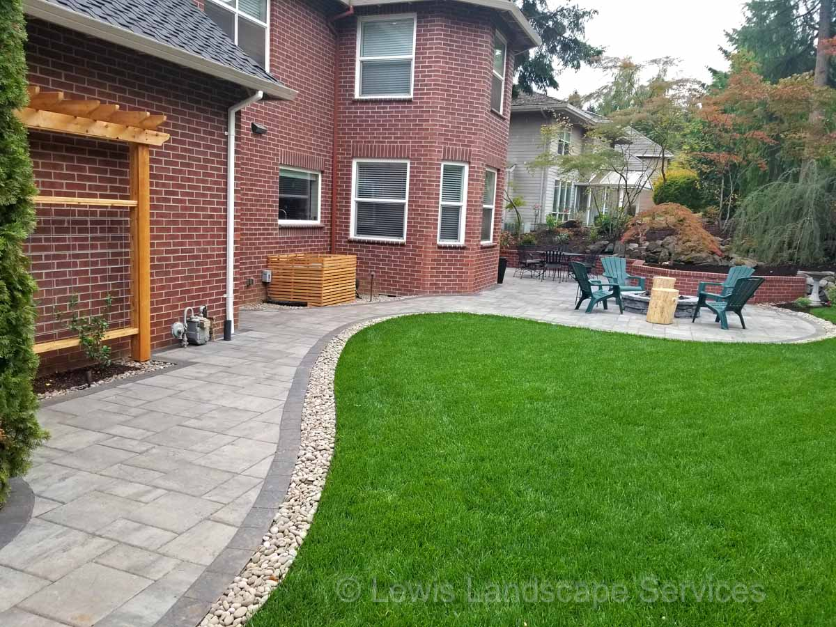 Custom Paver Patio & More at Project in Beaverton OR
