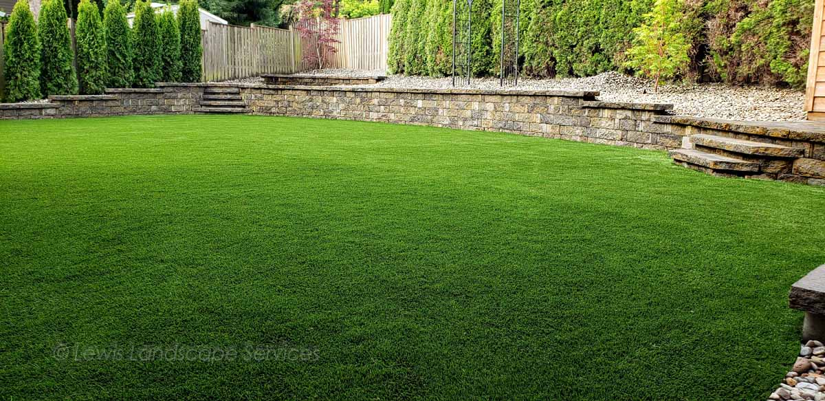 Synthetic Turf, Artificial Turf Lawn Installation