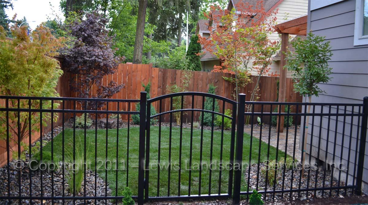 Iron Fence & Gate