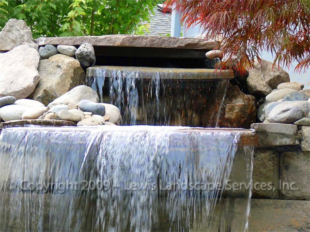 Waterfalls Create Attractive Focal Points