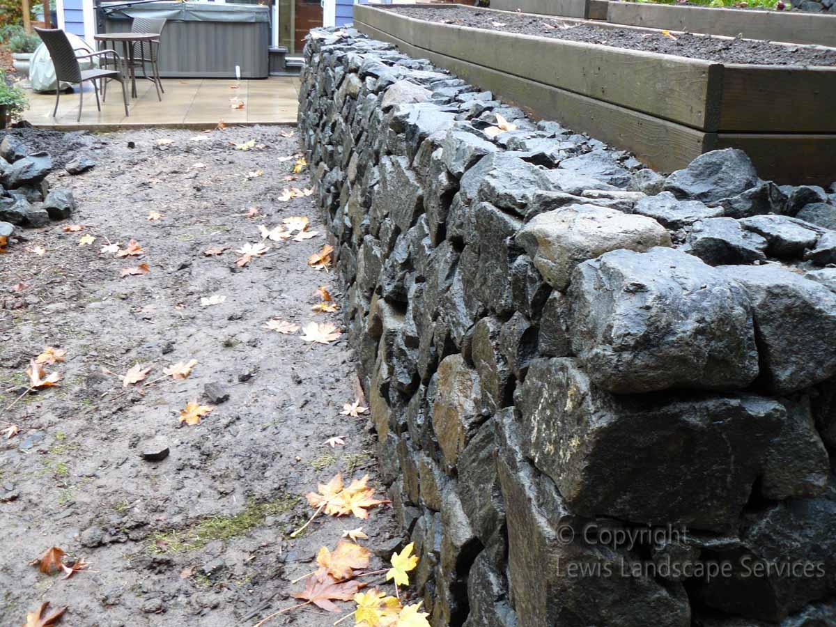 Basalt-rock-walls-steps-dobson-project-winter-2012 001
