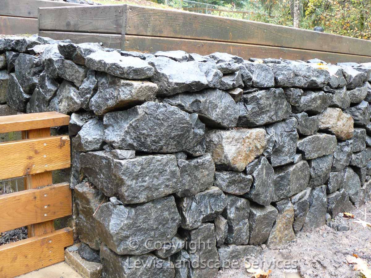 Basalt-rock-walls-steps-dobson-project-winter-2012 003