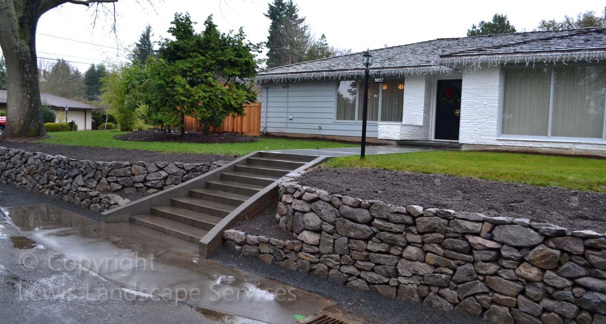 Basalt-rock-walls-steps-lindner-project-winter-2012 001