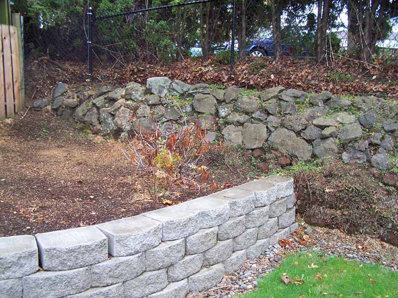 Before-after-new-rock-walls 002