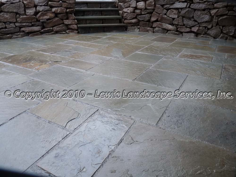 Bluestone-patios-and-walkways-palmer-project-fall-2010-wet-photos-right-after-installation-nov-2010 000