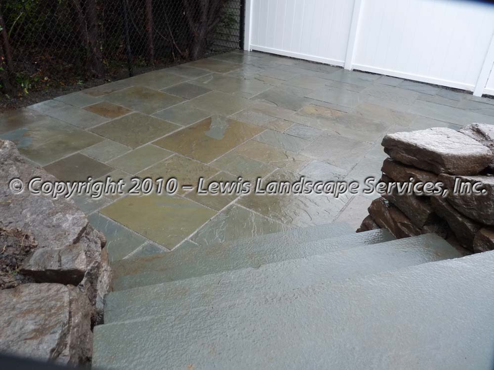 Bluestone-patios-and-walkways-palmer-project-fall-2010-wet-photos-right-after-installation-nov-2010 001