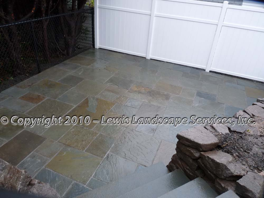 Bluestone-patios-and-walkways-palmer-project-fall-2010-wet-photos-right-after-installation-nov-2010 003