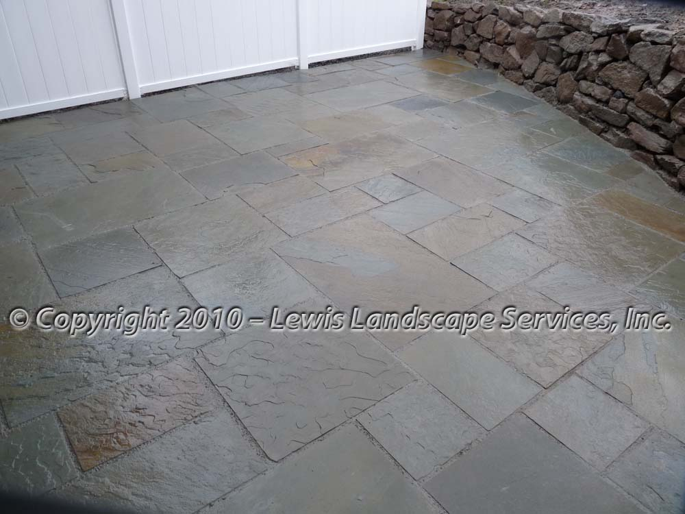 Bluestone-patios-and-walkways-palmer-project-fall-2010-wet-photos-right-after-installation-nov-2010 004