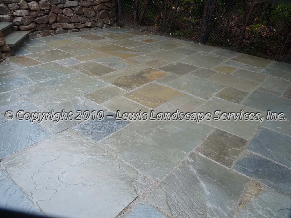 Bluestone-patios-and-walkways-palmer-project-fall-2010-wet-photos-right-after-installation-nov-2010 005