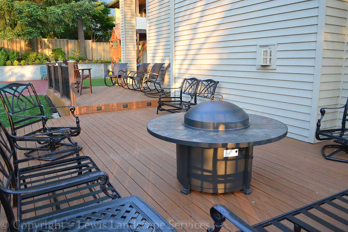 TimberTech Deck at one of our deck installations in Tigard, OR