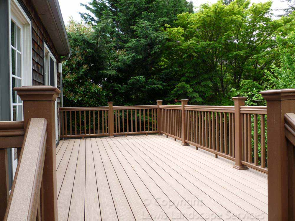 TimberTech Decking at one of our installation jobs in Portland, Oregon