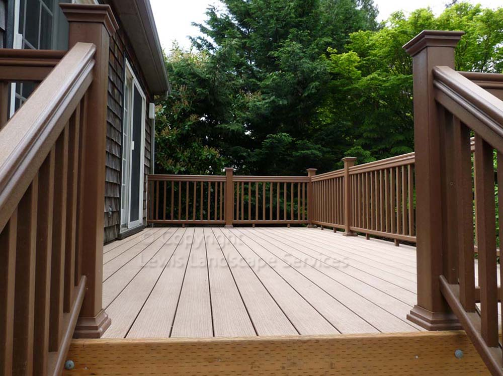 TimberTech Decking we built in Portland, OR