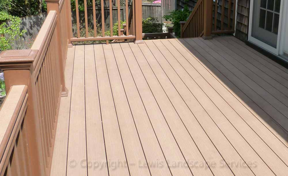 TimberTech Deck from one of our Portland Oregon Decking Installaters